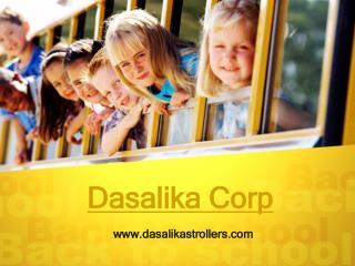 Stroller with pump wheels- Visit us dasalikastrollers.com