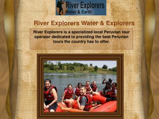 River Explorers Water & Packages