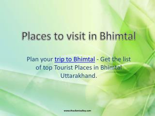 Hotel in Bhimtal