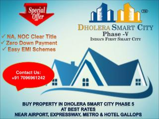 Property in Dholera smart city