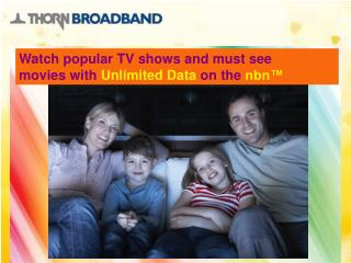 Thorn Broadband Unlimited ADSL2