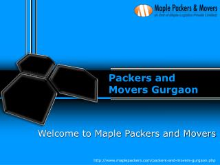 Packers and Movers Gurgaon - Maple Packers and Movers