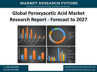 Global Peroxyacetic Acid Market Research Report - Forecast to 2027