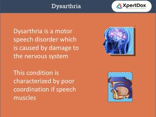 Dysarthria- Complete guide on it