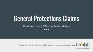 General Protections Claims