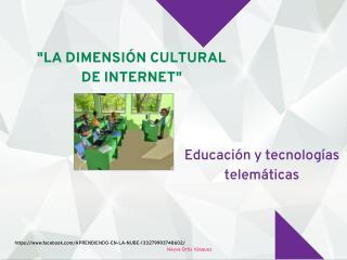 EDUCACIÓN Y NUEVAS TECNOLOGÍAS TELEMÁTICAs