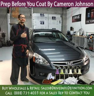 Prep Before You Coat by Cameron Johnson of Drive Auto Appearance System