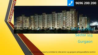 TATA La Vida in Sector 113, Gurgaon - BuyProperty.com