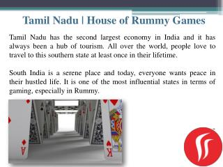 Tamil Nadu | House of Rummy!