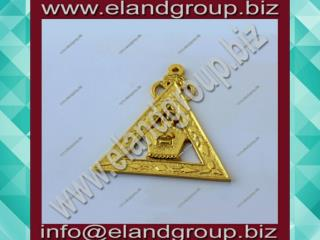 Masonic Royal Arch High Priest Officer jewel.