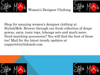 Women's Designer Clothing | Stylishmob