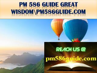 PM 586 GUIDE GREAT WISDOM\pm586guide.com