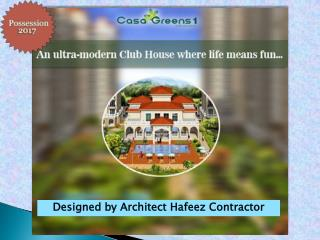Casa Greens 1 Construction Update for October 2016
