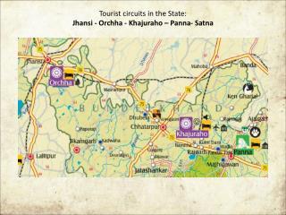 Tourist Circuts in Madhya Pradesh