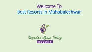 Best resorts in mahabaleshwar