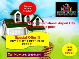 Buy plots in Dholera smart city