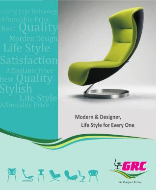 GRC system–Office, restaurant & bar furniture, chair manufacturer