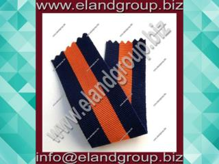 Medal Ribbon Dark Blue Whit Orange