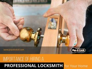Importance of Hiring a Professional Locksmith in Collinsville IL