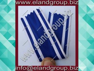 Medal Ribbons Blue and white