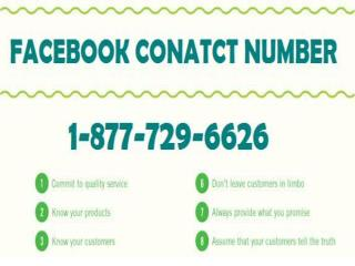 Facebook Contact Number 1-877-729-6626: Against All Worries