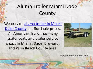 Open Trailer Florida Keys