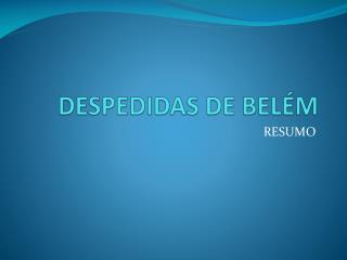 DESPEDIDAS DE BEL M