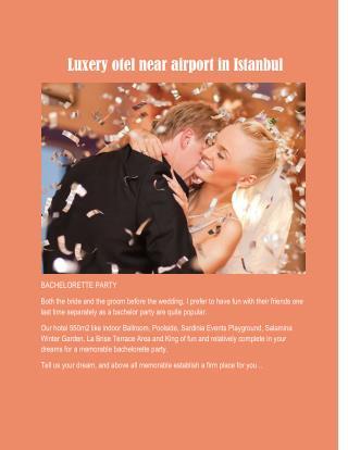 ücretsiz havaalani servisi ile istanbul otelleri