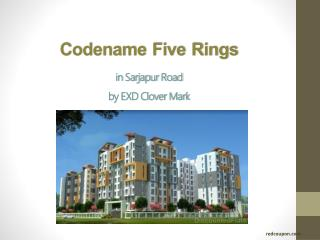 Affordable Flats at Codename Five Rings at Sarjapur Road