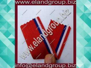 Military Red Ribbon Bars Ribbon