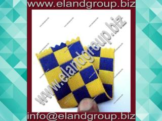 Regimental Blue & Yellow Ribbon