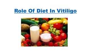 Role of diet in Vitiligo