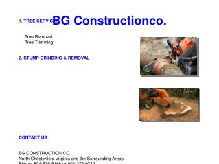 Crane Rental and work, Stump grinding, Tree removal Service Richmond, Henrico and Midlothian VA