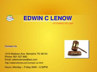 Personal Injury and Wrongful death Lawyer, Criminal defense Attorney Memphis TN
