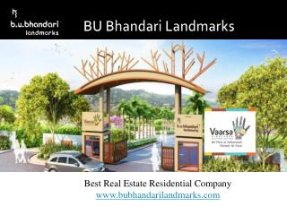 Real Estate Company Provides Completed Projects in Pune