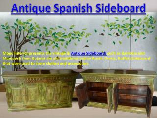 Antique Spanish Sideboard