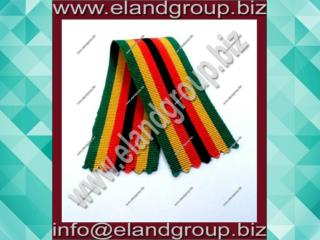 Uniform Medal Woven Ribbon