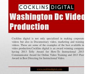 Washington Dc Video Production