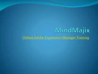Build Your Career With Adobe Experience Manager Training