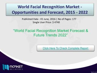 World Facial Recognition Market Share & Size 2022