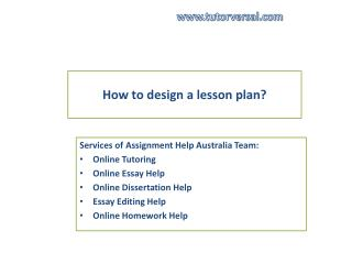 Australia Assignment services
