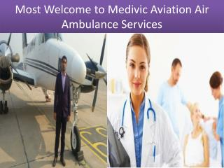 Emergency Air Ambulance Services in Di