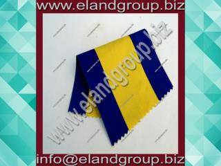 Moire Ribbon Blue & Yellow