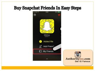 Buy 1,000 Snapchat Friends In The Best Price Deal