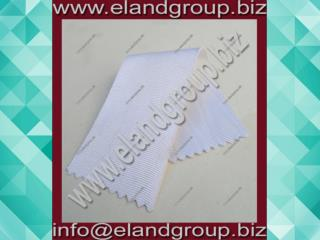 White Moire Ribbon