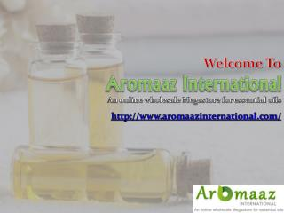 Aromaazinternational.com: Buy Online Pure and Natural Essential Oils