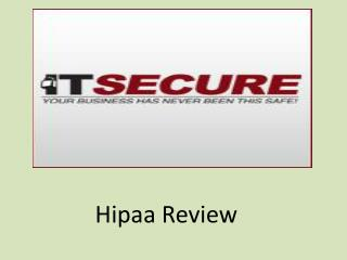 Hipaa Review