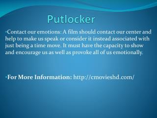 Putlocker HD Movie Online Free