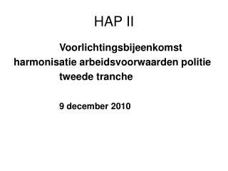 HAP II