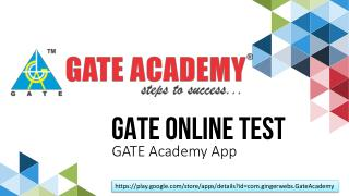 GATE Online Test Series App